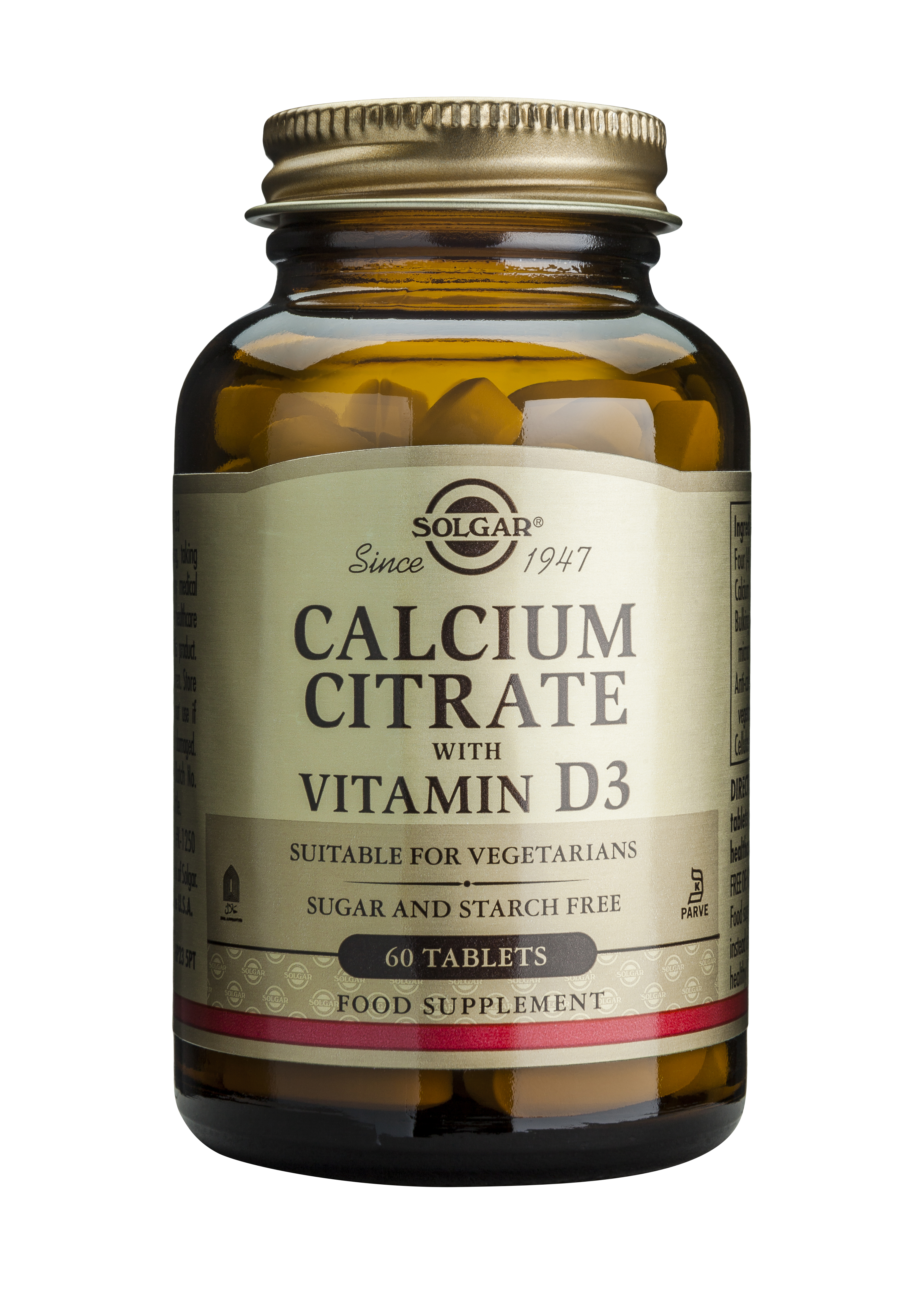 CALCIUM CITRATE 250mg cu D3 60 tablete [0]