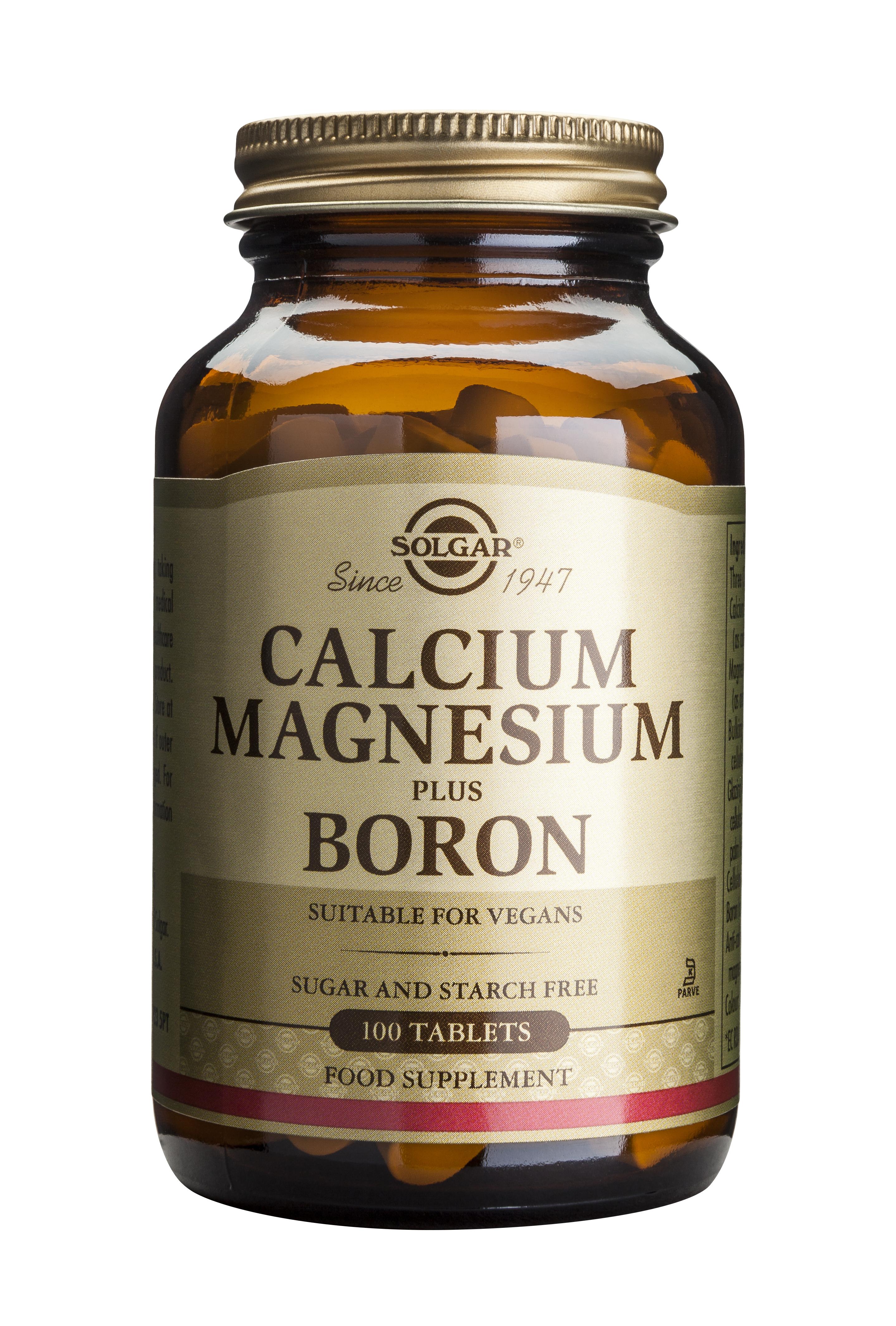 Calcium Magnesium plus Boron 100 tablete [0]