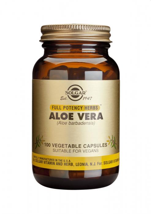 Aloe Vera veg. caps 100s [0]