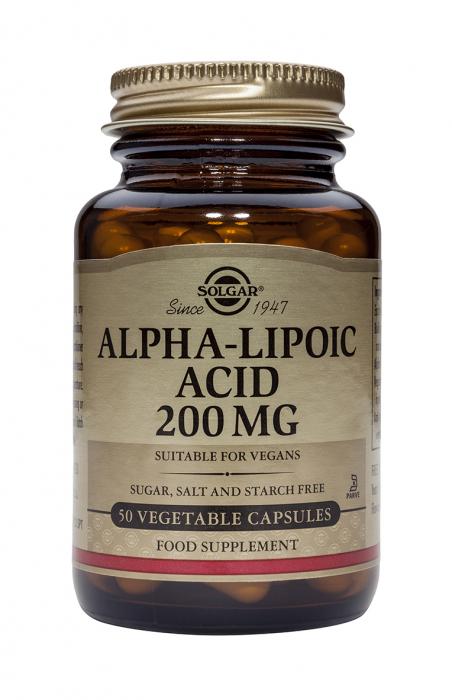 Alpha Lipoic Acid 200mg 50 caps [0]