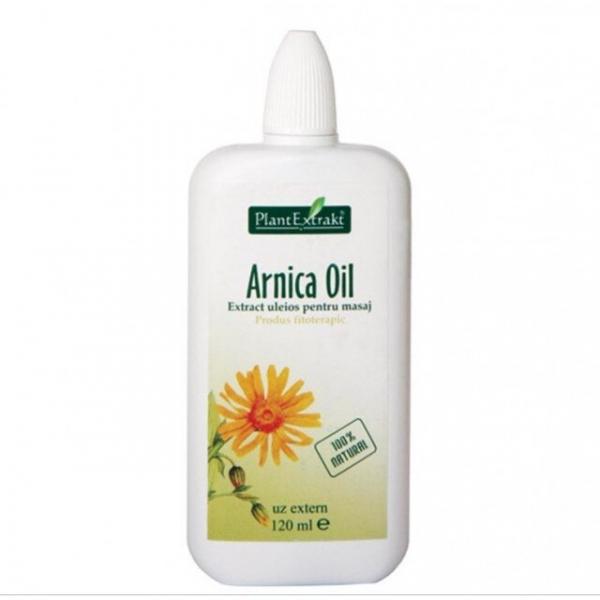 Arnica Oil - Extract Uleios pentru Masaj 120ml PlantExtrakt 0
