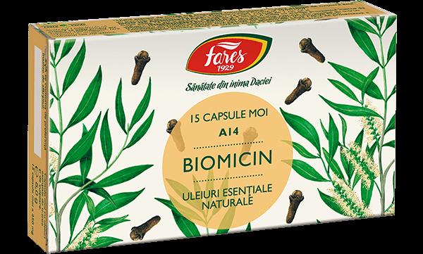 Biomicin Capsule A14 Fares 15 buc 0