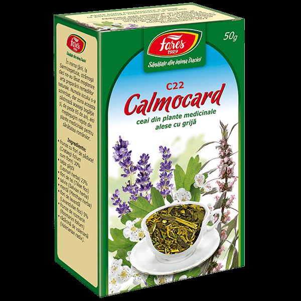 Calmocard Ceai 50 g C22 Fares [0]