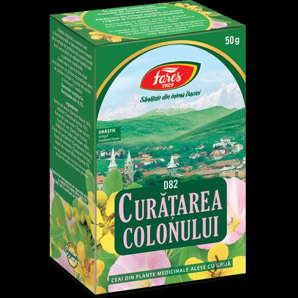 Ceai Curatarea Colonului 50 g D82 Fares [0]