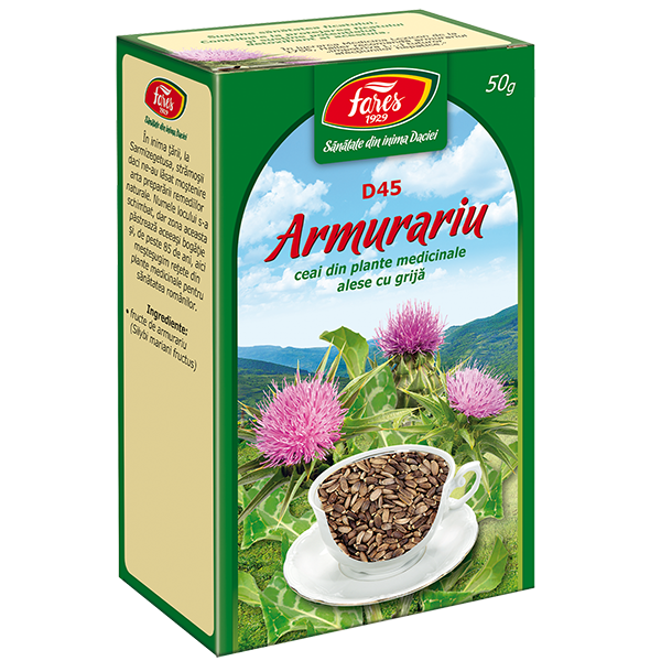 Ceai de Armurariu (Fructe) 50 g, punga, D45, Fares 0