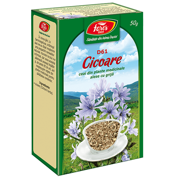 Ceai de Cicoare  50 g , punga, D61, Fares 0