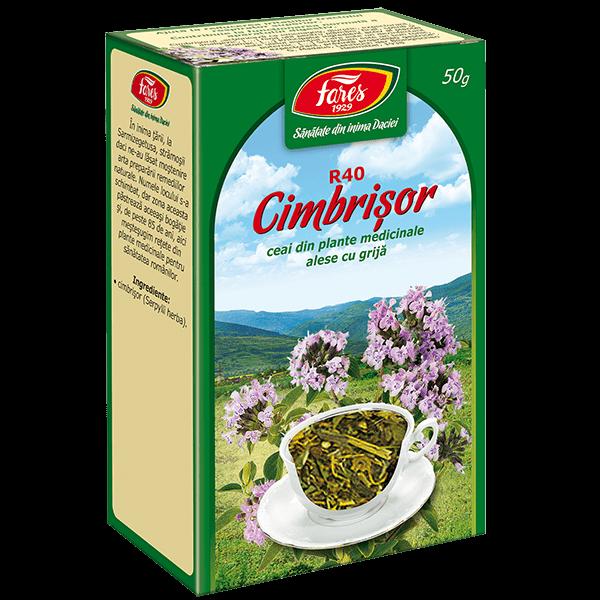 Ceai de Cimbrisor  50 g, punga, R40, Fares [0]