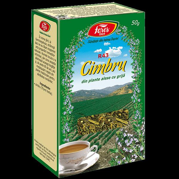 Ceai de Cimbru (Iarba) 50 g, punga, R43 , Fares 0