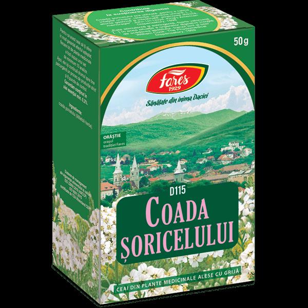 Ceai de Coada Soricelului (Iarba) , 50 g, punga, D115 , Fares 0