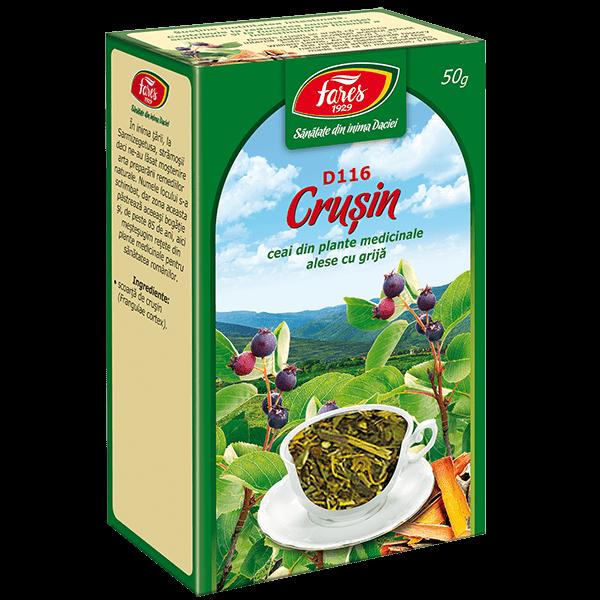 Ceai de Crusin (Scoarta) 50 g, punga, D116 , Fares 0