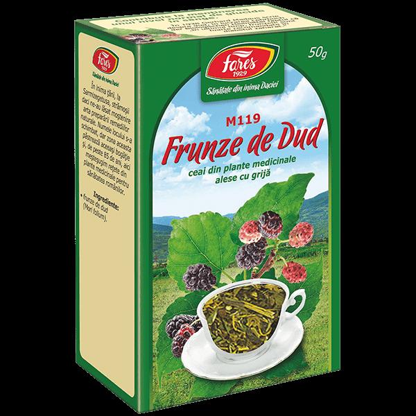 Ceai de Dud (frunze) , 50 g, punga, M119, Fares 0