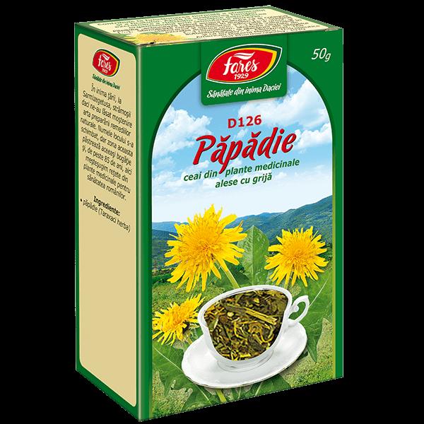 Ceai de Papadie (Frunze) 50 g D126 Fares 0