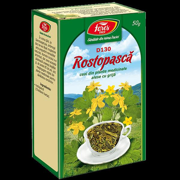 Ceai de Rostopasca (Iarba) 50 g D130 Fares 0