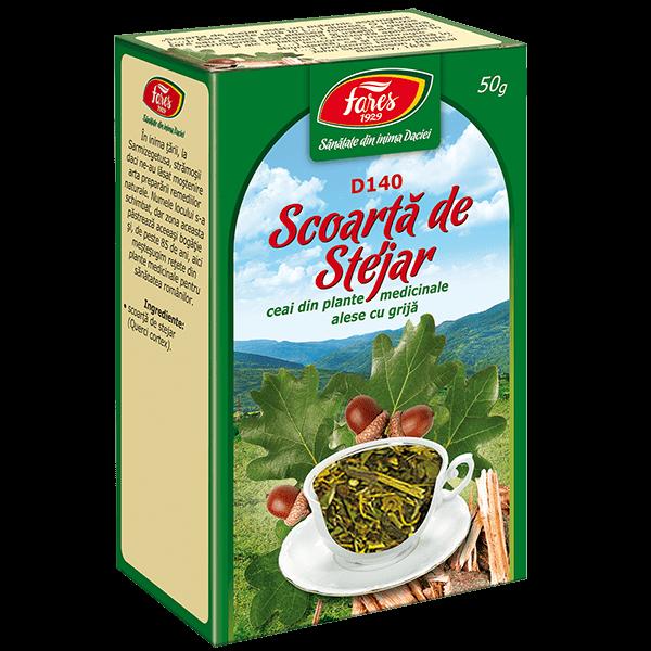 Ceai de Scoarta de Stejar 50 g D140 Fares 0