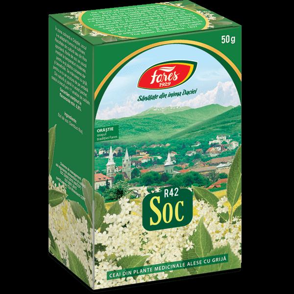Ceai de Soc (Flori) 50 g R42 Fares 0