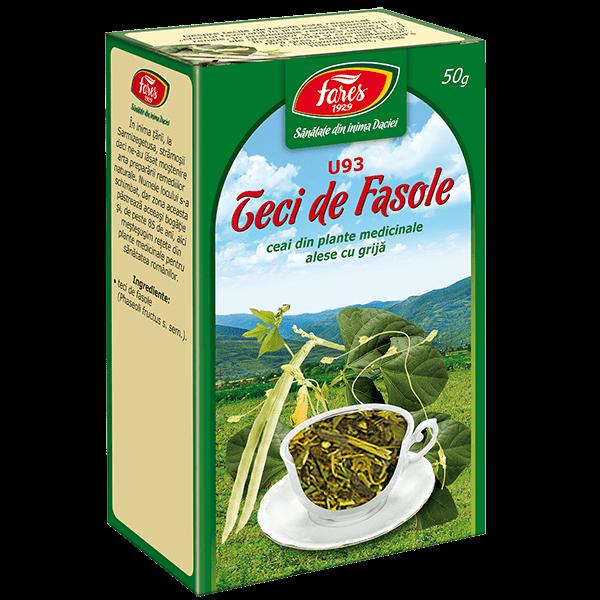 Ceai de Teci de Fasole 50 g U93 Fares 0