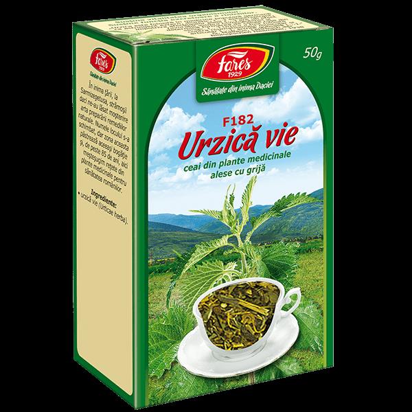 Ceai de Urzica Vie 50 g F182 Fares 0