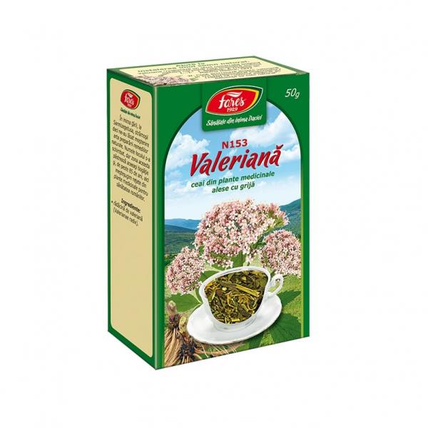 Ceai de Valeriana (Radacina) 50 g N153 Fares 0