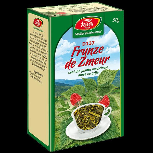 Ceai de Zmeur (Frunze) 50 g D137 Fares [0]