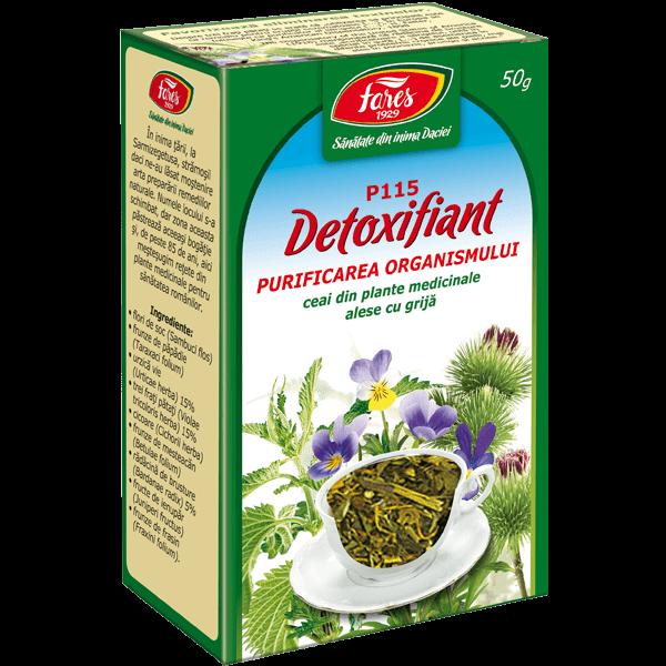 Ceai Detoxifiant 50 g P115 Fares 0