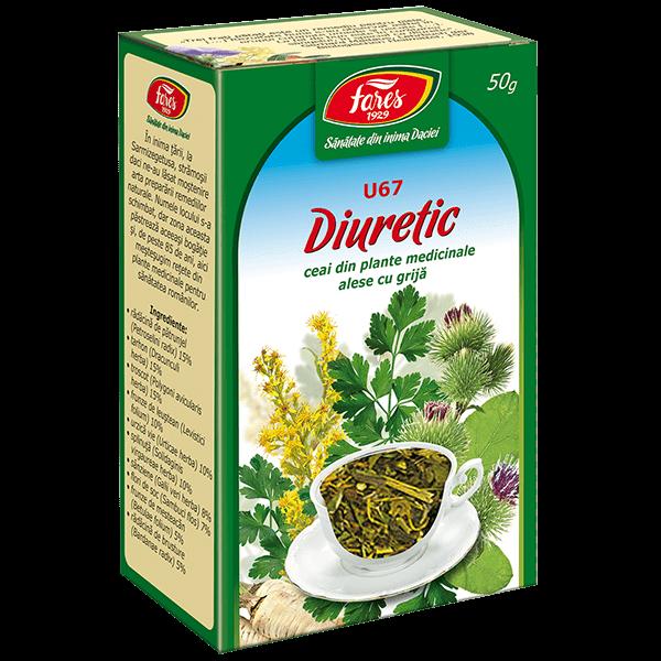 Ceai Diuretic 50 g U67 Fares 0