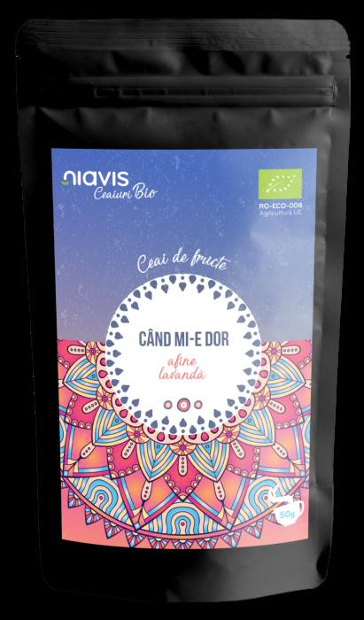 "Ceai Ecologic/BIO ""Cand Mi-e Dor"" 50g [0]"