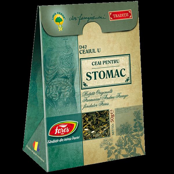 Ceai pentru Stomac (Ceaiul U) 50 g D42 Fares 0