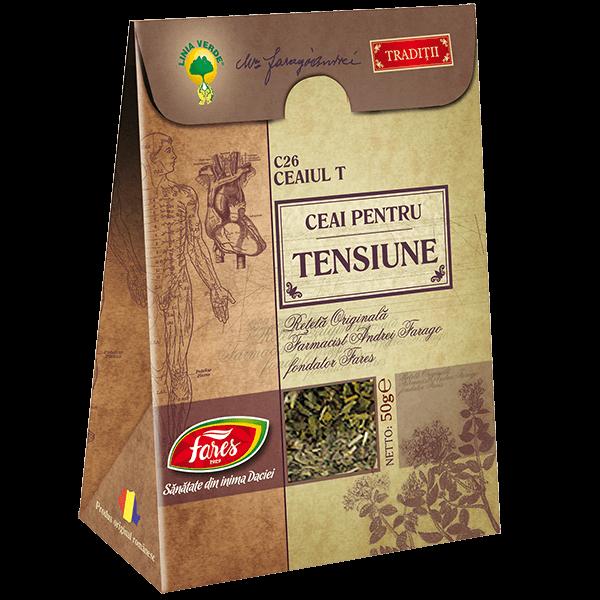 Ceai pentru Tensiune (Ceaiul T) 50 g C26 Fares 0