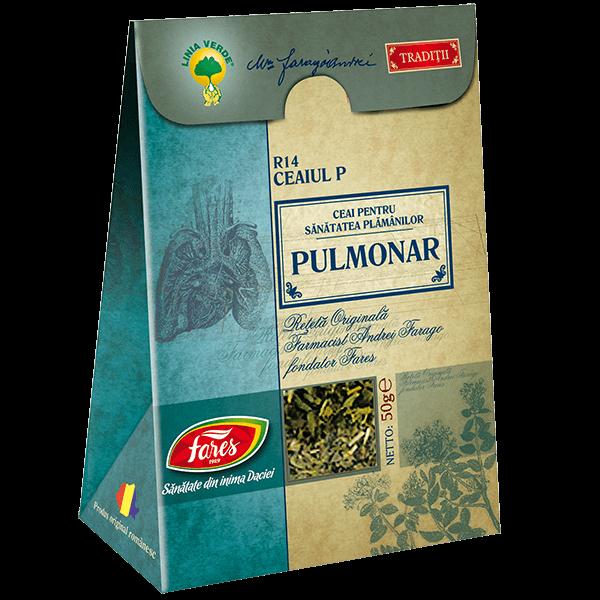 Ceai Pulmonar (Ceaiul P) 50 g R14 Fares 0