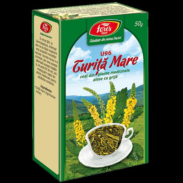 Ceai Turita Mare 50 g U96 Fares 0