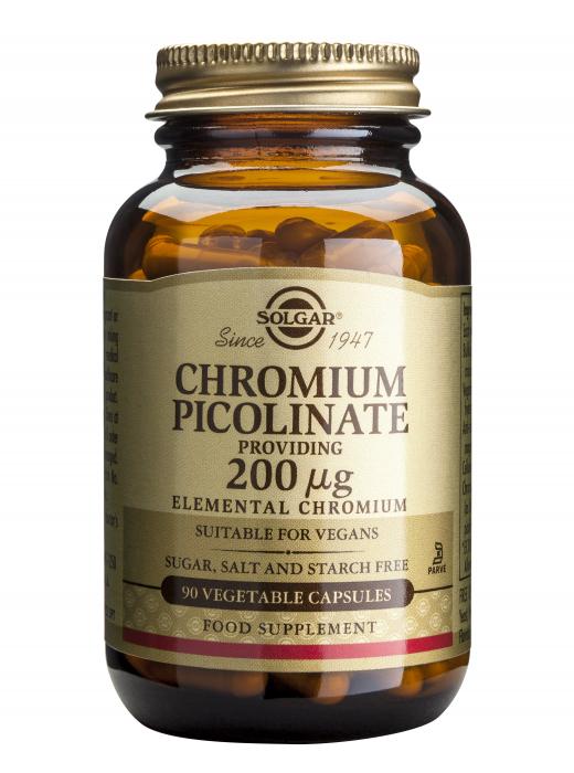Chromium Picolinate 200ug 90 veg caps [0]