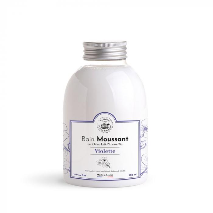 Cremă Spumanta cu Lapte de Magarita Bio 500ml - Violette [0]