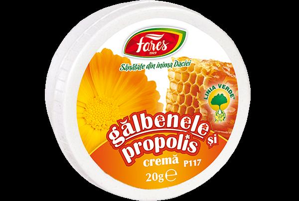 Crema de Galbenele cu Propolis Fares P117 20 grame 0