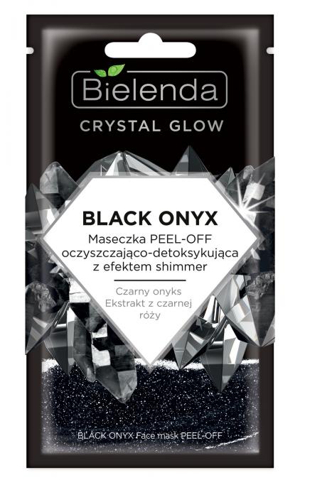 CRYSTAL GLOW BLACK ONYX Masca de Fata PEEL-OFF Detoxifianta si cu Efect de Stralucire 8g [0]