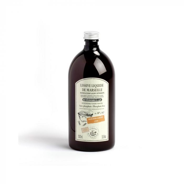 Detergent de Rufe Lichid de Marsilia 1L - CITRICE [0]