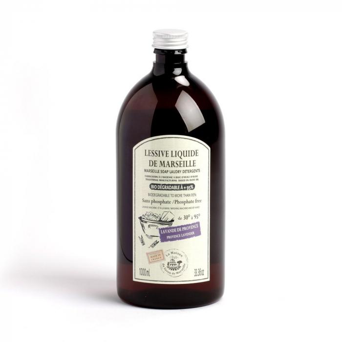 Detergent de Rufe Lichid de Marsilia 1L - LAVANDA [0]