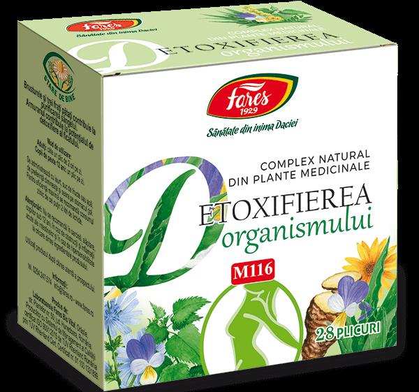 Detoxifierea Organismului M116 Fares 28 plicuri 0