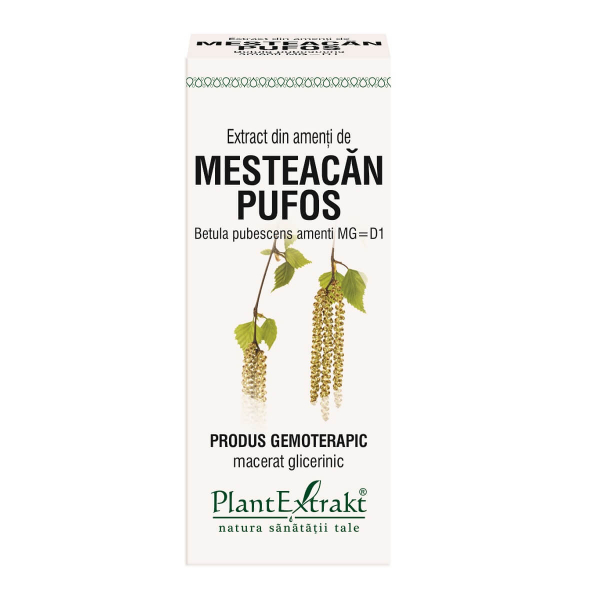 Extract din Amenti de Mesteacan Pufos 50ml PlantExtrakt 0