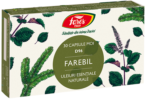 Farebil Capsule Fares 30 cps D96 0