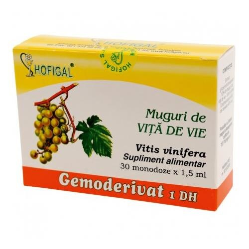 Gemoderivat de Vita de Vie (Muguri) 30 monodoze Hofigal 0