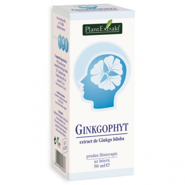 Ginkgophyt 50ml PlantExtrakt 0