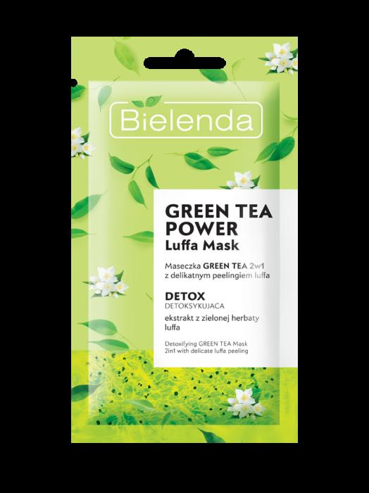 GREEN TEA POWER Masca de Fata Detoxifianta cu Ceai Verde 2in1  8g [0]