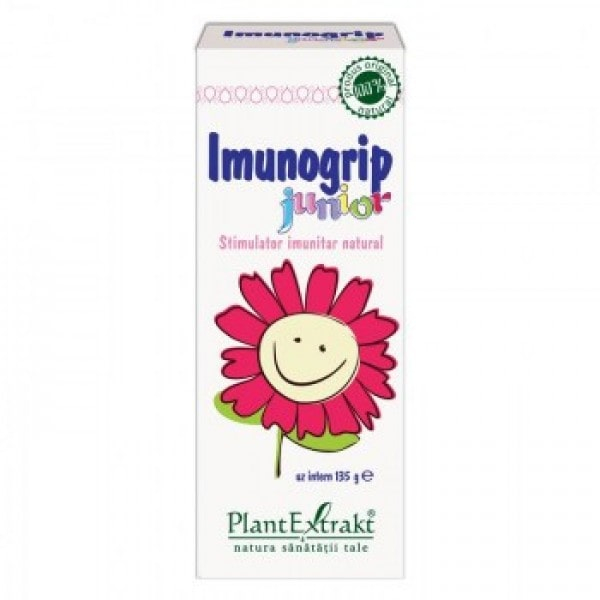 Imunogrip Junior Sirop 135 gr PlantExtrakt [0]