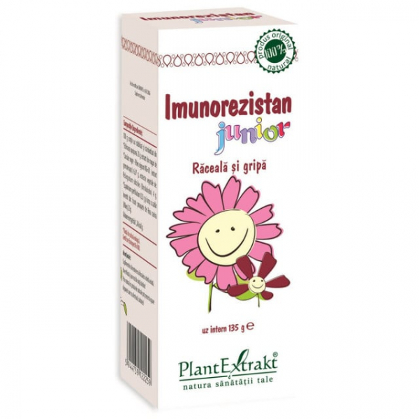 Imunorezistan Junior Sirop 100 ml PlantExtrakt [0]