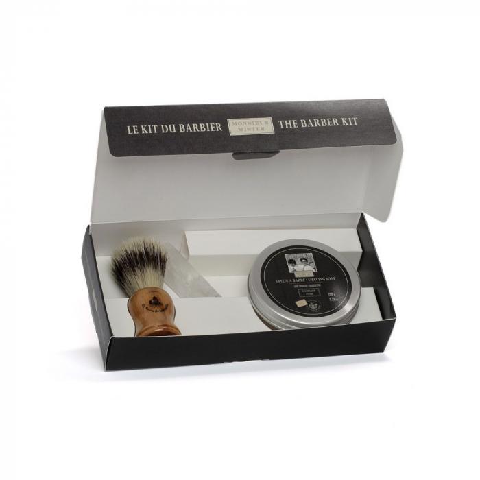 Kit Pamatuf, Piatra de Alaun, Sapun pentru Barbierit 150gr [0]