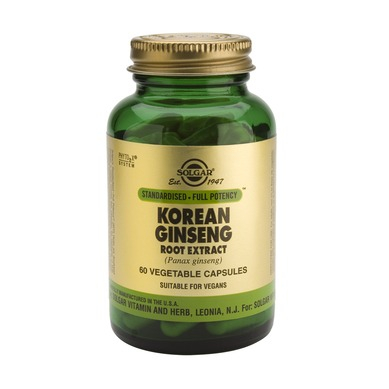 Korean Ginseng Root Extract 60cps [0]