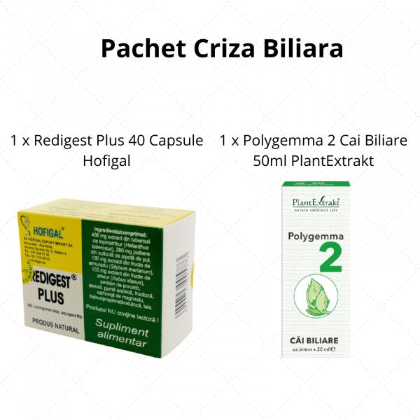 Pachet Criza Biliara 0