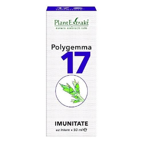 Polygemma 17 Imunitate 50ml PlantExtrakt 0