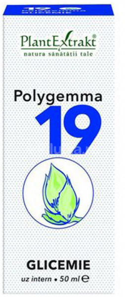 Polygemma 19 Glicemie 50ml PlantExtrakt 0