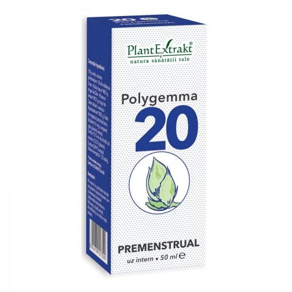 Polygemma 20 Premenstrual 50ml PlantExtrakt 0